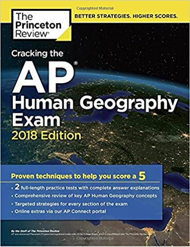 Amazon cracking the ap human geography exam 2018 edition amazon cracking the ap human geography exam 2018 edition proven techniques to help you score a 5 college test preparation 9781524710101 publicscrutiny Images