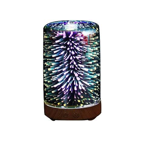 Amazon.com: GRJ XYD Humidificador Óptico Iluminación Luz ...