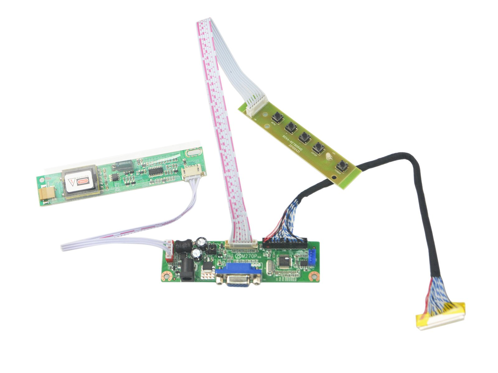 NJYTouch V.M70A VGA Controller Board Kit LVDS Driver For LP171WP4 LTN170WX-L05 LTN170WX-L03 LTN170X2-L02 LCD Screen by NJYTouch (Image #1)