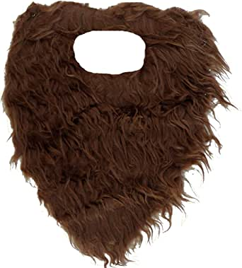 Jacobson Hat Company Fake Beard and Mustache -Brown