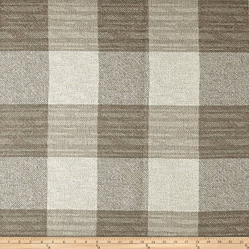 - ARTISTRY Buffalo Check Basketweave Fabric, Flax