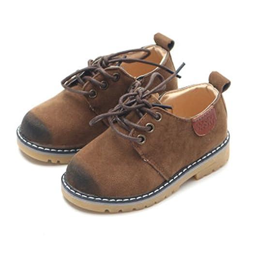 Jungen Frühling Schnürhalbschuhe, Kinder Mädchen Casual Haferlschuhe Trachtenschuhe Festliche Schuhe