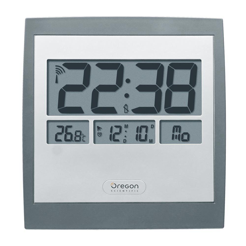 Oregon Scientific JM-889-NR - Reloj de pared, radio controlado, con ...