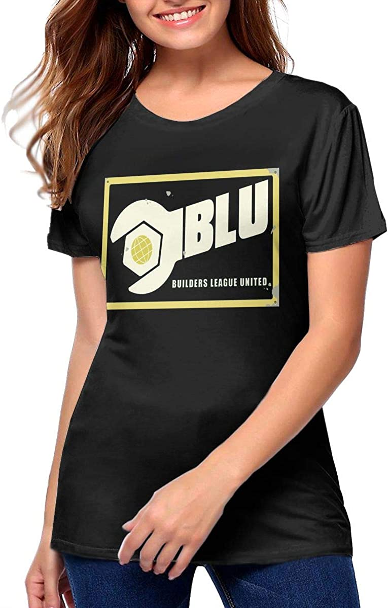 Amazon Com Woman S Team Fortress 2 Blu Team Vintage T Shirt Black