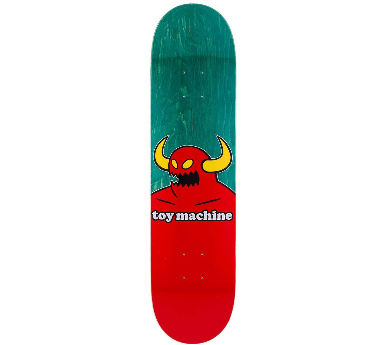 Toy Machine Skateboard Deck Monster (Assorted Colors) 8.0''