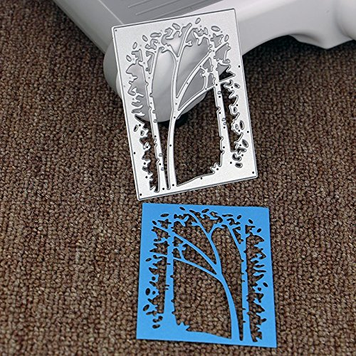 Lady Time Clearance!!Tree Metal Cutting Dies Stencil Scrapbooking Photo Paper Cards Crafts Embossing DIY by Lady Time (Image #4)