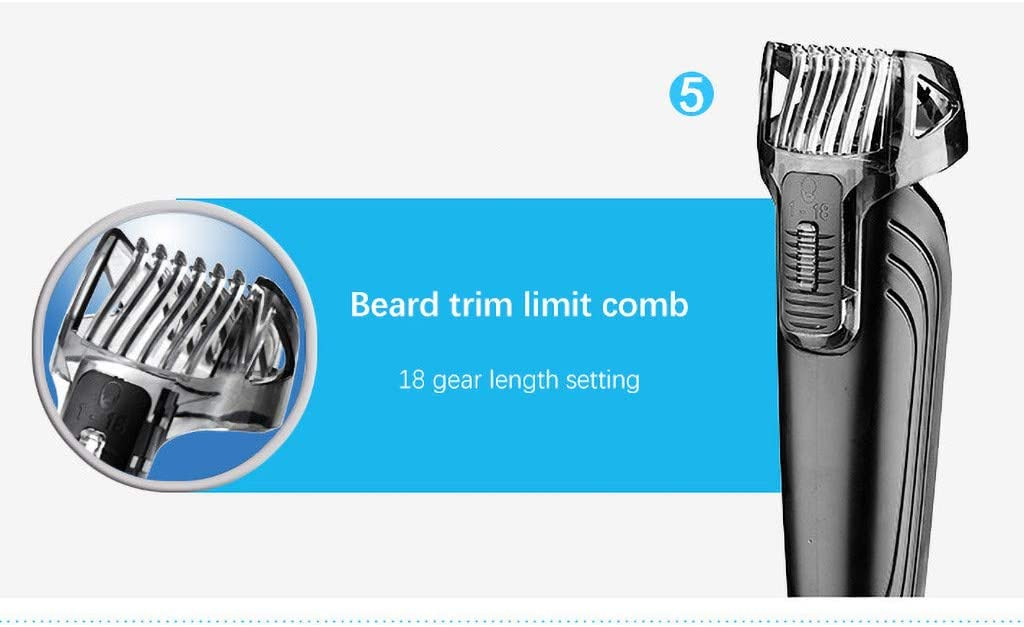 for Men,Women /& Children FacaiNICE Multifunctional Five in one Rechargeable Hair Clipper /& Trimmer Barbershop Home Haircut Tool