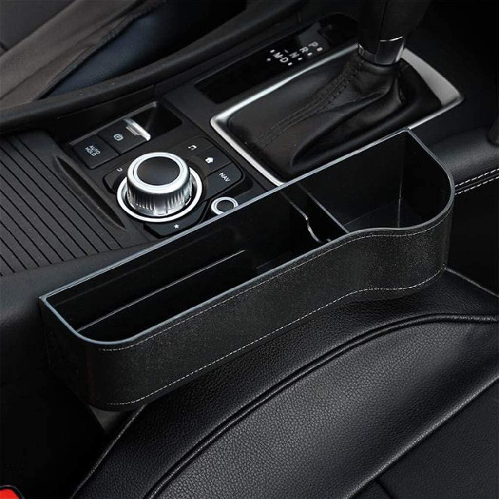Car Seat Organiser Back Seat /& Front Seat Storage Box TriLance Car Seat Pocket Catcher Organizer Leak-Proof Storage Bag Left