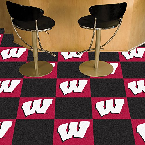 Fan Mats 8518 University of Wisconsin Badgers 18