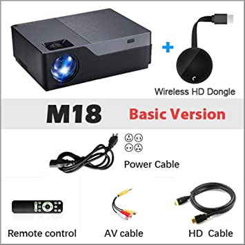 SMEI Proyector Full HD, Resolución De 1920 X 1080. Proyector Led ...