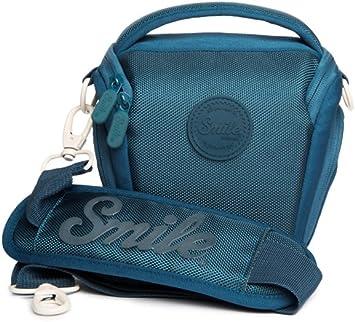 Smile - Bolsa Holster para cámaras fotográficas DSLR y Réflex, Azul: Amazon.es: Electrónica
