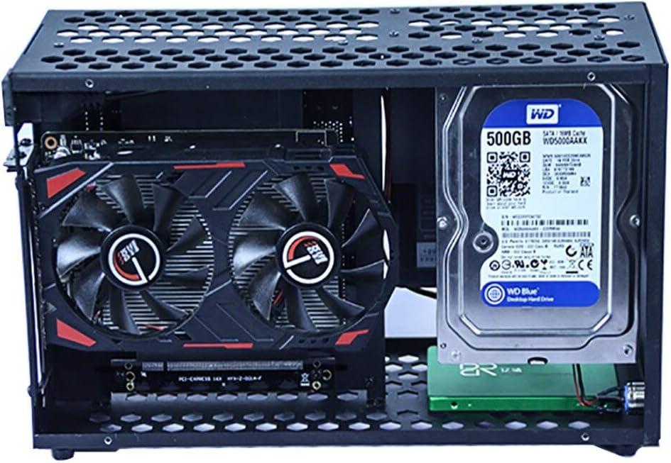 Caja de Ordenador de Metal Mini ITX Placa Madre PC Soporte SFX ...
