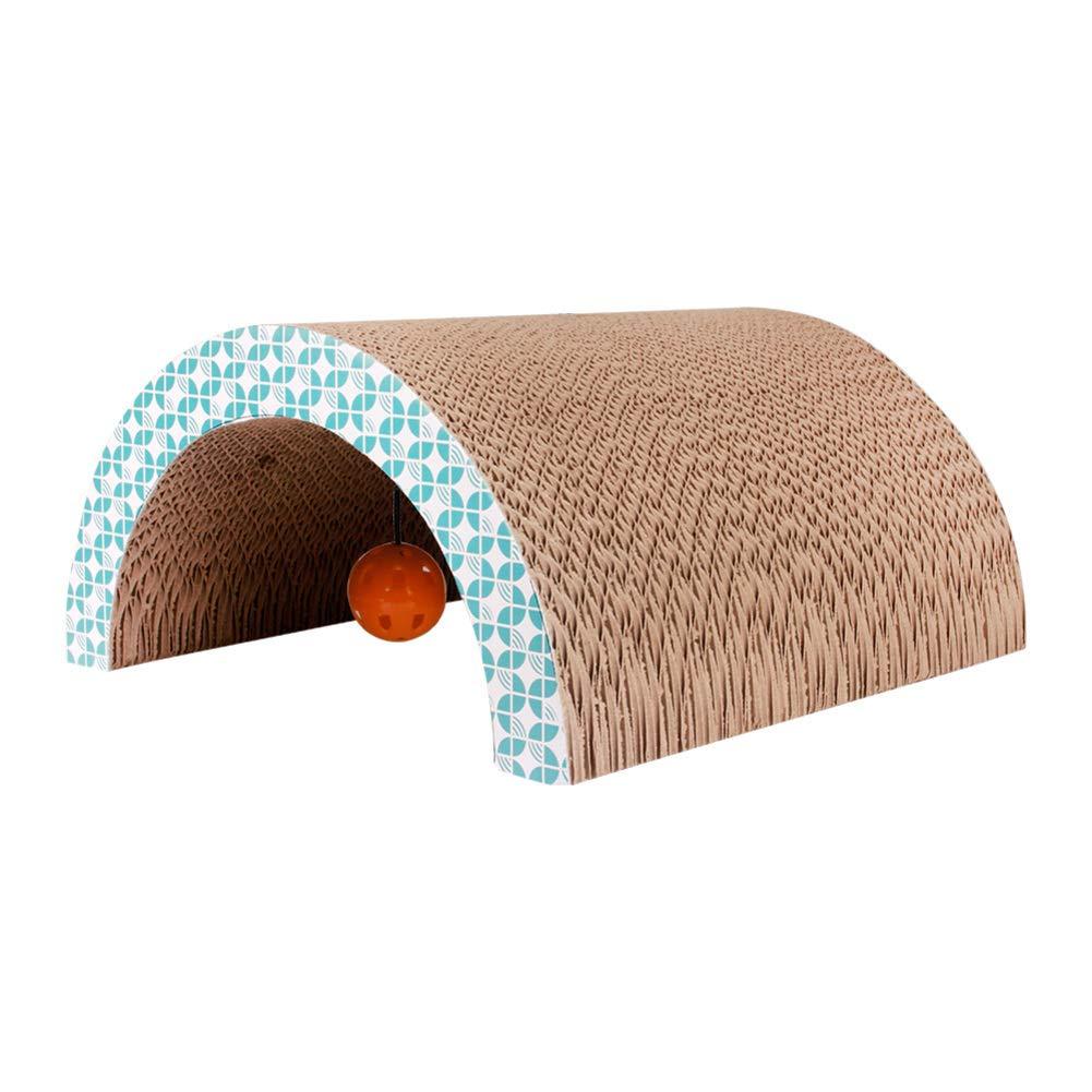G Triangle cat Hole Corrugated Paper Cat Scratch Board Cat ToyG 33x31.5cm(13x12inch)