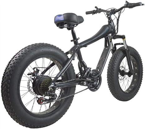 LPsweet Bicicleta De Montaña, Shift 4.0 Neumático Ancho De Aluminio Ligero Y Plegable Bicicletas con Pedales Portátil Nieve Bicicletas Bicicletas Bici De La Playa: Amazon.es: Deportes y aire libre