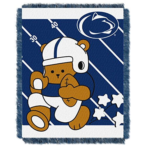 Nittany Lions Woven Jacquard - Penn State OFFICIAL Collegiate, Fullback Baby 36 x 46 Triple Woven Jacquard Throw