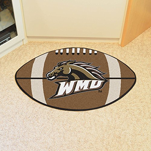 Western Michigan Football Rug - Fan Mats Western Michigan Football Rug, 22