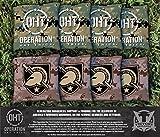 Victory Tailgate Operation Hat Trick Army Black Knights Cornhole Bag Set (corn filled)