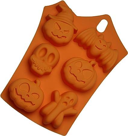 Candy Corn Halloween Fondant Mold Set Chocolate Candy Gumpaste Soap Resin Clay
