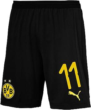 Puma Borussia Dortmund Fútbol Home Pantalones Pantalones Cortos De Fútbol 2018 2019 Hombre Niños con número del Jugador, Reus, 128: Amazon.es: Deportes y aire libre