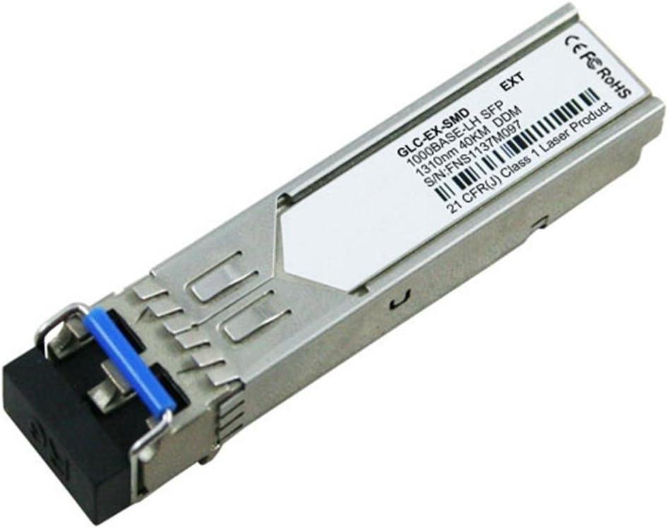 LODFIBER GLC-EX-SMD Cisco Compatible 1000BASE-EX SFP 1310nm 40km DOM Transceiver