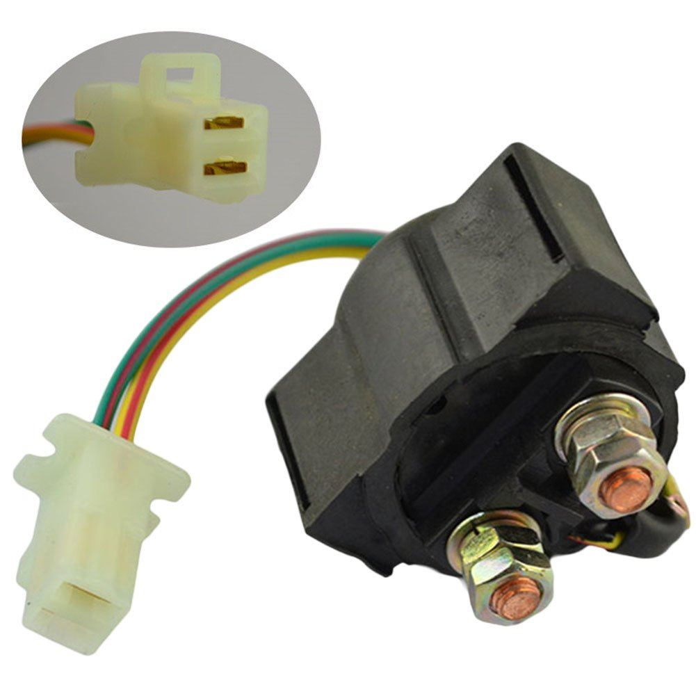 AHL Motorcycle Starter Solenoid Relay for Honda ATC200ES BIG RED 1984 ATV
