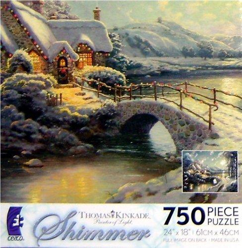 Thomas Kinkade Shimmer Puzzle