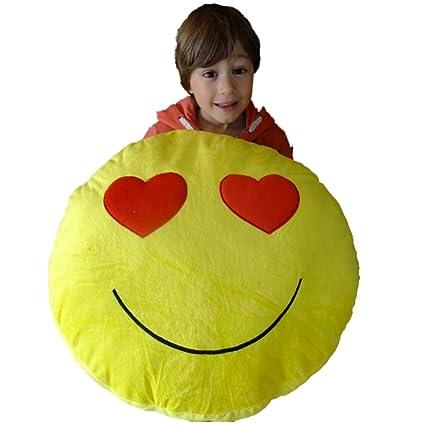 Gigante gigante gran almohada Emoticon grande sonrisa Goofy ...