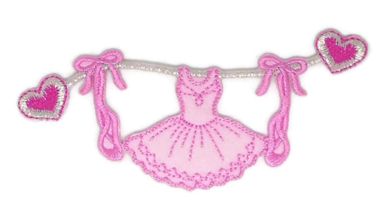 Disfraz de ballet con dibujos bordados para coser o planchar bordados, para manualidades, hecho a mano, para bebé, niña, mujer, ropa de bricolaje, ...