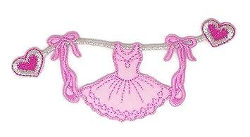 Disfraz de ballet con dibujos bordados para coser o planchar bordados, para manualidades, hecho