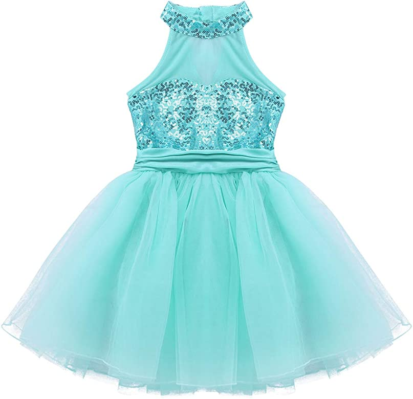 19492cde0 YiZYiF Vestido Tutú de Danza Ballet para Niñas Disfraz Bailarina ...