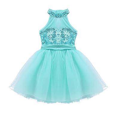 iiniim Vestido de Danza Princesa Niña Maillot Ballet ...
