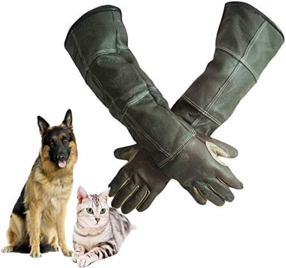 XYFL Guantes De Animales De 60 Cm para Gatos Loros Serpientes Mascotas Perros Guantes De Protección contra Mordidas/Arañazos - Guantes para Jardinería