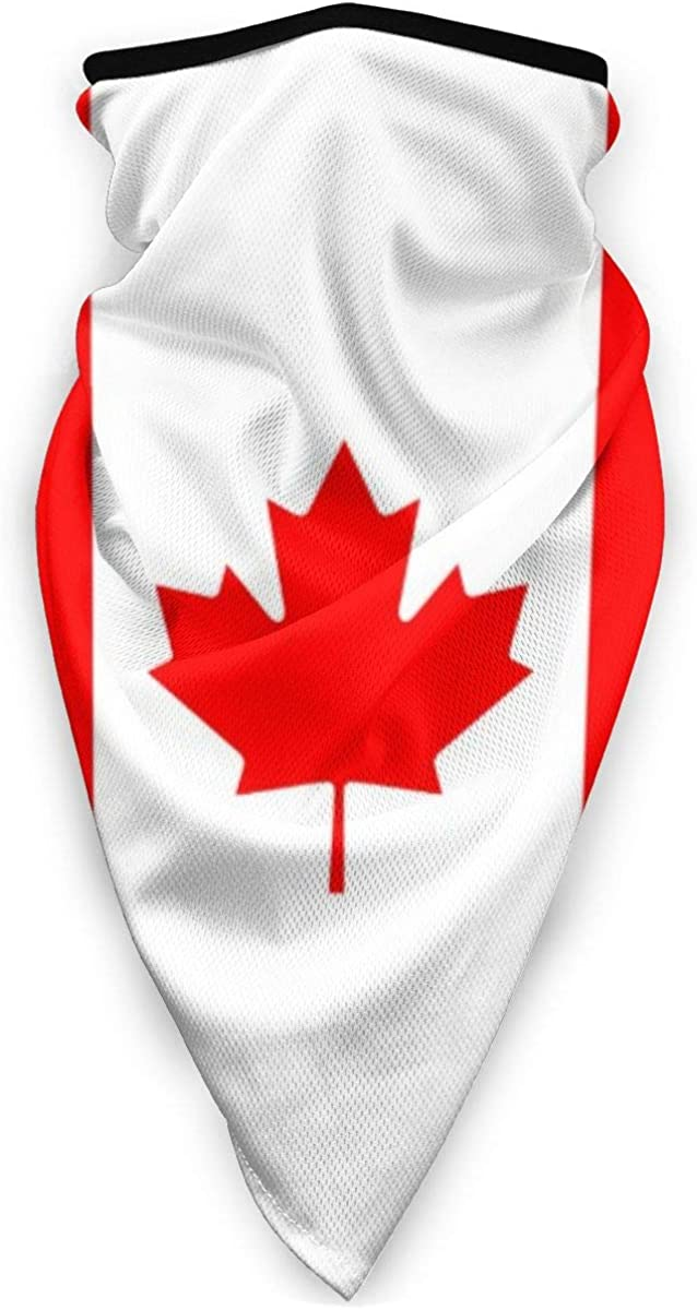 Wind-Resistant Face Mask/& Neck Gaiter,Balaclava Ski Masks,Breathable Tactical Hood,Windproof Face Warmer for Running,Motorcycling,Hiking-Canadian Flag of Canada Maple Leaf Decorative