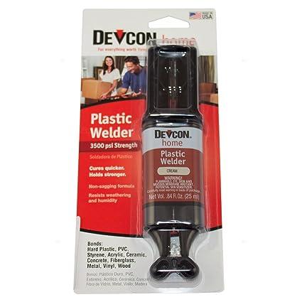 Amazon.com: 1 oz Tube Plastic Welder Adhesive Wood PVC Concrete ...