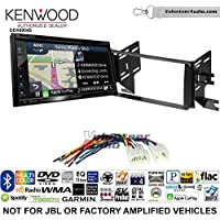 Volunteer Audio Kenwood Excelon DNX694S Double Din Radio Install Kit with GPS Navigation System Android Auto Apple CarPlay Fits 2007-2014 Non Amplified Toyota FJ Cruiser