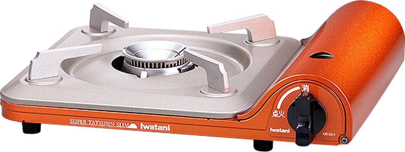 IWATANI Cassette Feu SUPER TATSUJIN SLIM CB-SS-1 Copper Orange Japan Domestic genuine products