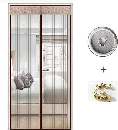 ACDRX Puerta de Pantalla magnética para Puerta corredera de Cristal, Malla de Malla de Fibra de Vidrio Resistente, Cortina de Malla: Amazon.es: Hogar