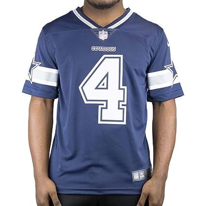 hot sale online 7af42 85839 Dallas Cowboys Dak Prescott #4 Nike Vapor Untouchable Navy Limited Jersey