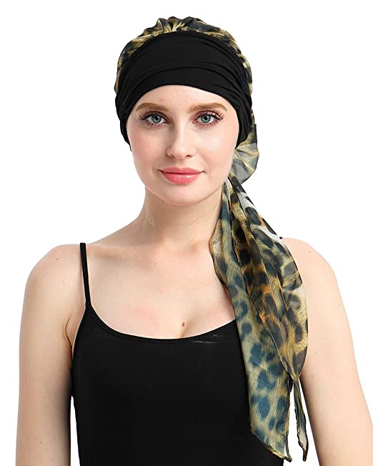93f57b4c1bf Turban for Women with Cancer Hair Loss Scarf Turbans  Amazon.co.uk  Clothing