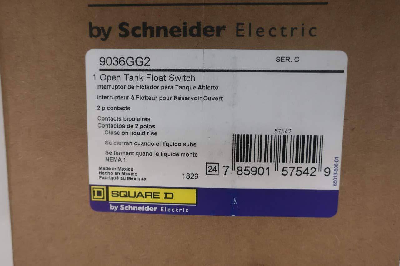 SQUARE D 9036GG2 Open Tank Float Switch SER C D663560
