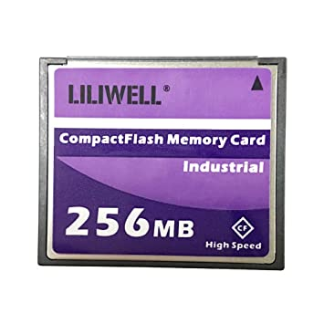 LILIWELL Original 256 MB CompactFlash Card Industrial High Speed Digital Camera CNC Flash Memory Card 256M