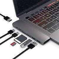 """Hub USB C, Type C hub Concentrador USB C (7-IN-1) Adaptador de Concentrador USB Adaptador HDMI USB-C 100W Power Delivery, USBC 5Gbps Data, 4K HDMI, Lector de Tarjetas Micro SD/SD, 2xUSB 3.0A Puertos, Diseñado para MacBook Pro 13 """"y 15"""" 2016/2017"""