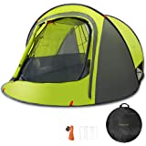 Sunnychic Pop Up Tent Camping Tent, Automatic Instant Pop Up Setup Tent with Sun Shelter UV Protection, Portable 2-3…