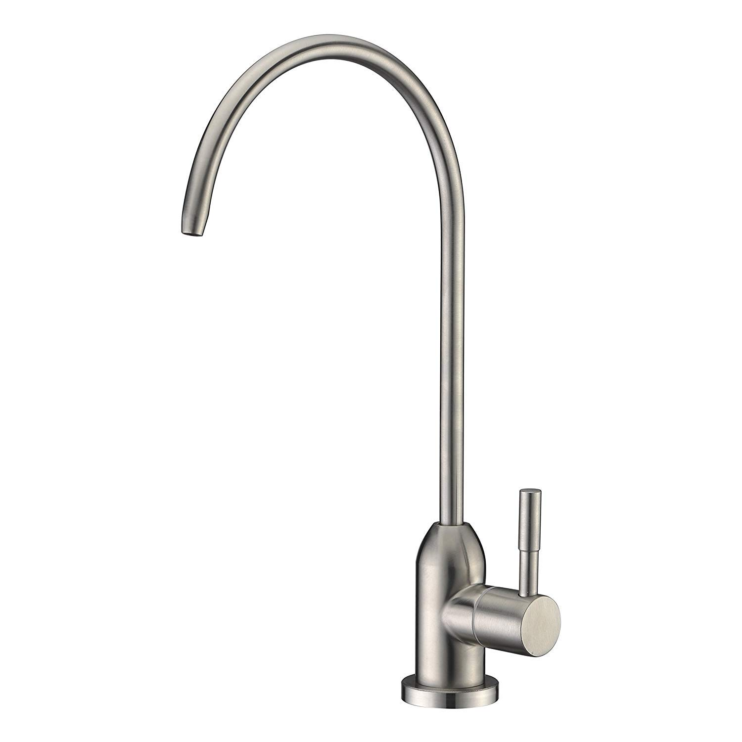 Avola Modern Best Stainless Steel Brushed Nickel Kitchen Bar Sink Drinking Water Purifier Faucet, Commercial Water Filtration Faucet