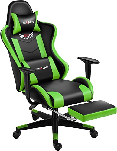 Shuanghu Gaming Chair Office Chair Ergonomic Computer Chair - the best video game chair for the money