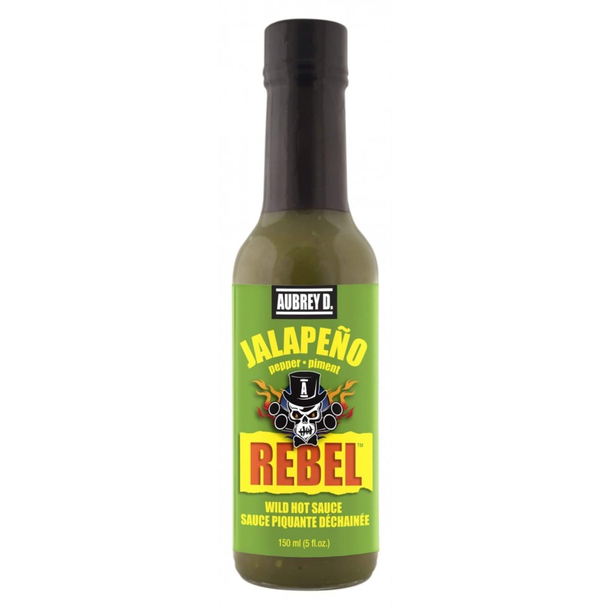 Aubrey D. Aubrey D, Mild with a Sharp Peppery Jalapeno Flavor Hot Sauce 1 Bottle