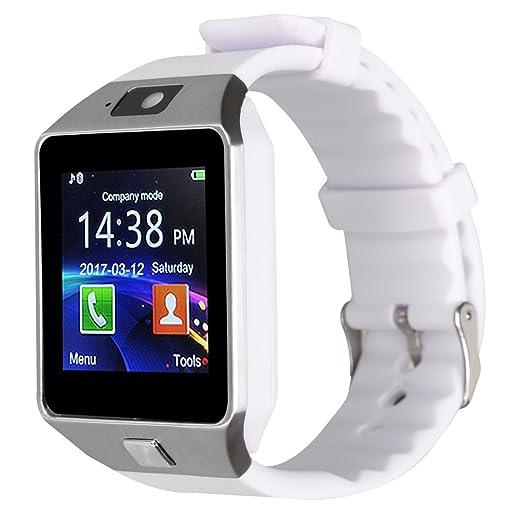 28 opinioni per Kivors Smartwatch Nuovo Orologio DZ09 Supporta Schede TF per IOS Android Samsung