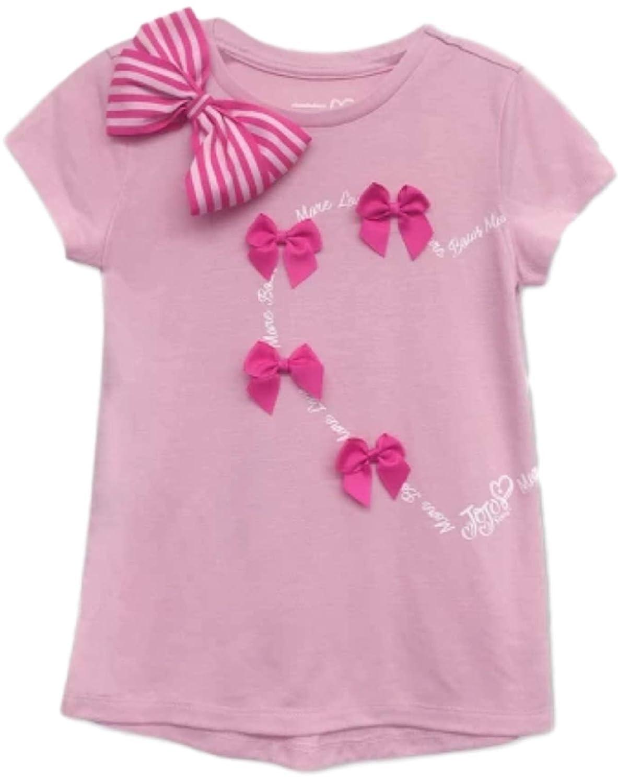 e10c6c4e5 Amazon.com  Nickelodeon . Girls  JoJo Siwa Valentines Day Short Sleeve T- Shirt Pink (Pink