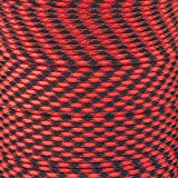 red and black - Paracord Planet 550 Cord Type III 7 Strand Paracord 100 Foot Hank - Red & Black