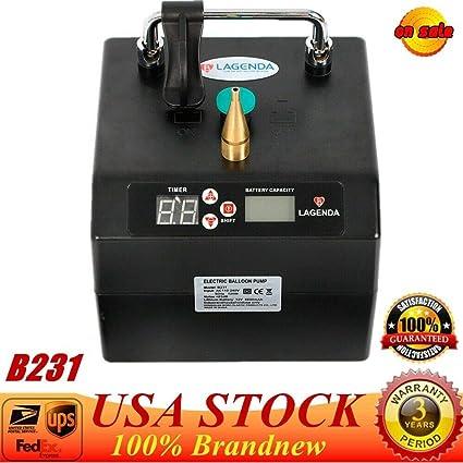 Amazon.com: DY19BRIGHT Bomba eléctrica de globo de aire, B23 ...